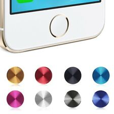 Aluminium Round Home Button Sticker for iPhone 4S 4 5 5S 3G 3GS iPod iPad Cheap