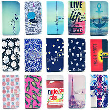Filp Wallet PU Leather Cell Phone Case Skin Cover Stand For LG Optimus G2 D802