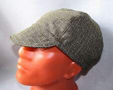 Cap for Welders and Pipefitters, Welding Cap Hat for Work - Plaid (BlueYllwWt)