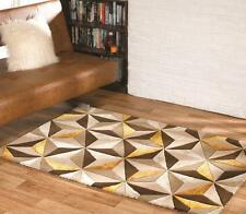 Botanical Scorpio Natural Ochre Handtufted Wool Rug available in various sizes
