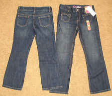 NWT Gymboree Girls Bootcut Jeans Sz 6 Slim 7