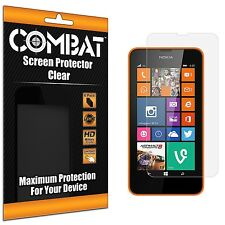 6-Pack COMBAT Screen Protector Film Cover for Nokia Lumia 630 635