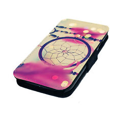 Dream Catcher Style Design 1 Printed Faux Leather Flip Phone Cover Case