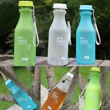 Portable Unbreakable Leak-proof Sport Travel Water Bottle Cycling Camping Cup