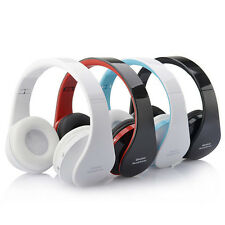 Wireless Stereo Bluetooth Headphone Headset For iPhone samsung Cell Phone Laptop