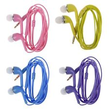 In-Ear Earphone Earbuds Headset + Mic Volume Control for Samsung Galaxy S5 S3 S4