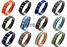 Premium Military watch band Nylon strap Bonded For OMEGA 18mm 20mm 22mm