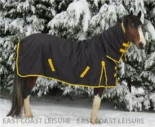 HEAVYWEIGHT COMBO 1200 DENIER 350g FILL TURNOUT HORSE RUG SIZES 3'0 TO 7'3