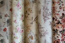 Designer Fabric - Quality Upholstery, Curtain Cotton Fabric, Floral Designs
