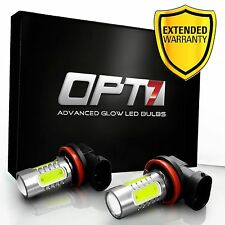 OPT7 LED Fog Light Plasma Replacement Bulbs 881 9005 9006 H1 H3 H7 H10 H11 5202