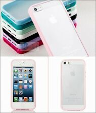 Hybrid Integrated Hard Cover Case Soft Rubber Bumper Side For iPhone 4 5s 6 PLUS
