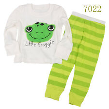 Baby boys'  Kids' Clothing Sleepwear Long T-shirt + pants Suit  Nightwear 7022UK