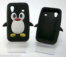 Silicone Case Cover Penguin Samsung Galaxy ACE s5830 MQH New