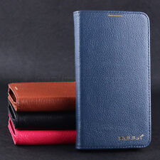 Landir- For Samsung Galaxy SIV S4 i9500 Leather Flip Wallet Protector Case Cover
