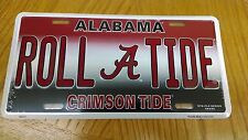 ALABAMA ROLL TIDE LICENSED CAR TAG TRUCK  - free shipping