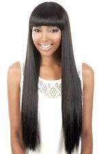 HB JEWEL BY MOTOWN TRESS N.E.1 ANYONE WIG HUMAN HAIR BLENDED CLEOPATRA STYLE