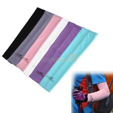 ZH2A 1 Pair Cooling Arm Sleeves Cover UV Sun Protection Golf bike outdoor Sports