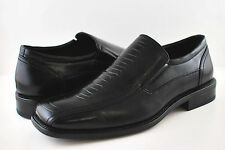 DELLI ALDO BLACK M3-18230 MEN DRESS SHOES