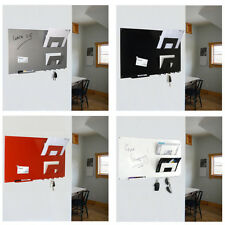 Wall Mounted Magnetic Memo Board Letter and Key Holder by THE METAL HOUSE