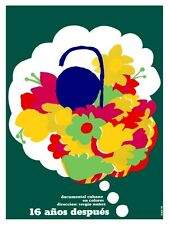 7170.15 años despise.cuban documentary.flowers in dream.POSTER.art wall decor