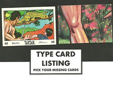 Type Cards: Anglo Confectionary TARZAN. EX condition. New no's added.