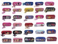 Disney Mickey Minnie Frozen Monster High Angry Birds Pencil Case Pouch Bag