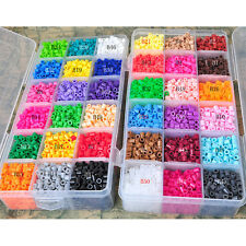 Hot Sale New 5MM 500PCS,1000PCS Various Colors Perler Beads free shipping