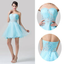 ❤CHEAP SALE❤Girls Short Strapless Prom Cocktail Evening Party Homecoming Dresses