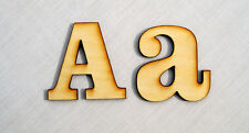 WOODEN LETTERS- Names, Letters or Words- 3mm thick  A-Z