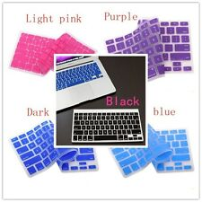 5 Colors Silicone Keyboard Cover Skin for Apple Macbook Pro MAC 13 15 17 Air 13