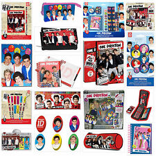 Ensemble Papeterie One Direction Cadeau Noël Neuf