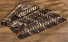 Rustic Retreat Rag Rug by Park Designs, Warm, Cozy Plaid, Your Choice of 3 Sizes