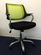 Mesh Fabric Adjustable Swivel Computer Desk Office Home Chair Padded Seat