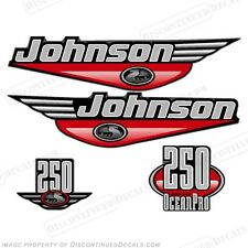Johnson 1999-2000 OceanPro 250hp Outboard Decal Kit - You Choose Color! Decals