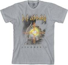 "New! Def Leppard ""Target I Pyromania"" Classic Rock Band Licensed Adult T-Shirt"