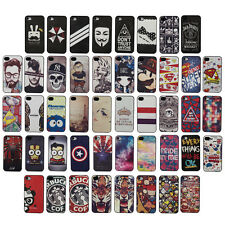 Stylish For Apple iPhone 4 4G 4S Pattern Design Hard Plastic Case Cover -Landir