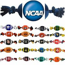 NCAA Pet Fan Gear Plush Toy Toys for Dog Dogs Puppy ALL TEAMS - PICK YOURS