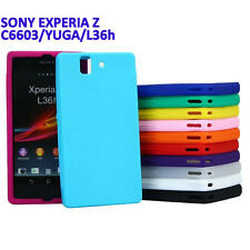 SONY EXPERIA Z C6603 PHONE CASE COVER RUBBER SILICONE GEL COVER CASE XPERIA Z