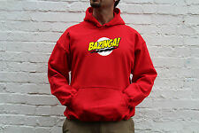 Bazinga The Big Bang Theory Inspired Cool Sweatshirt Jumper Hoodie S-XXL Sizes