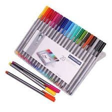 STAEDTLER Lumocolor non-permanent universal pen (color/pack) with plastic case