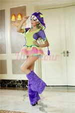 Sexy costume-One Eyed Monster-includ tutu dress,furry monster hood,one eye NG M