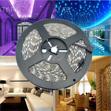 Full color 5M 5050 RGB Flexible Waterproof 60LED/M 300LEDs Ambient LED strip