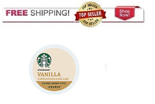 FRESH Starbucks Vanilla Coffee Keurig k-Cups YOU PICK THE SIZE
