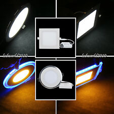 9W/15W/18W/21W LED Surface Panel Wall Ceiling Down Lights Mount Bulb Lamp+Driver