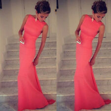 New Sexy Womens Bridesmaid Prom Ball Cocktail Party Dress Formal Evening Gown