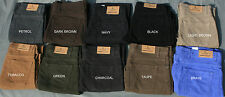 EX MARKS/SPENCER MEN'S M&S BLUE HARBOUR  MOLESKIN TROUSERS 10 COLOURS