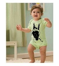Funny Baby Carrier Movie creeper outfit Shirt gag gift tshirt boy girl green
