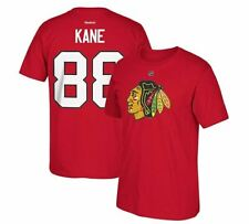 Chicago Blackhawks Patrick Kane #88 Jersey Style Textured Reebok NHL T-Shirt