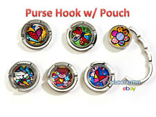 ROMERO BRITTO ZINC ALLOY PURSE HOOKS ** ONE PER ORDER ** NEW **