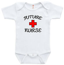 Future nurse baby body suit gift baby clothe cute funny one piece suit baby girl